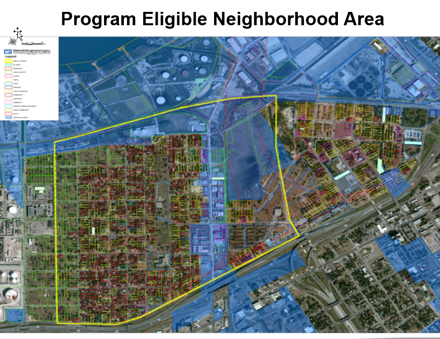 Eligible Neighborhood Area Map